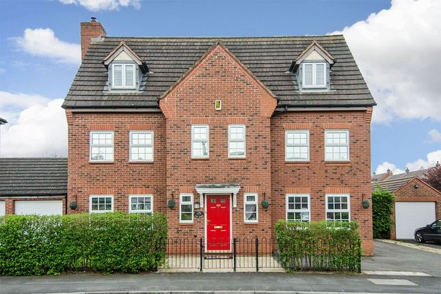 Thumbnail Detached house to rent in Worthington Road, Fradley, Lichfield