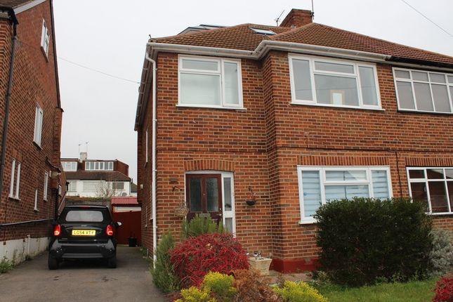 Thumbnail Semi-detached house to rent in Whitegate Gardens, Harrow Weald