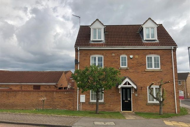 Thumbnail Detached house to rent in Portmarnock Way, Grantham