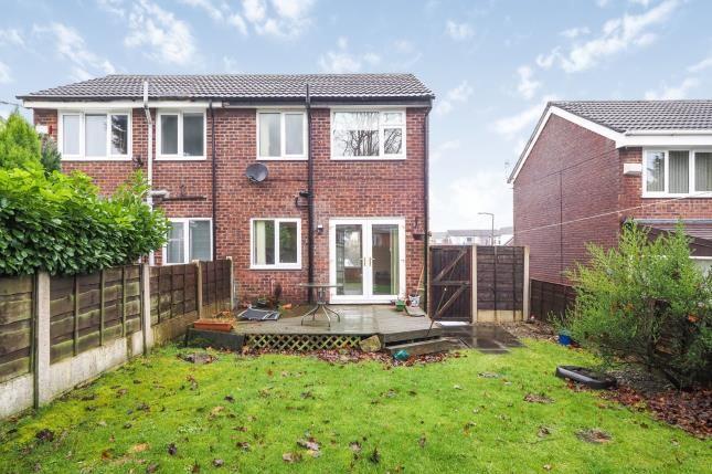 Garden of Fistral Crescent, Stalybridge, Greater Manchester SK15