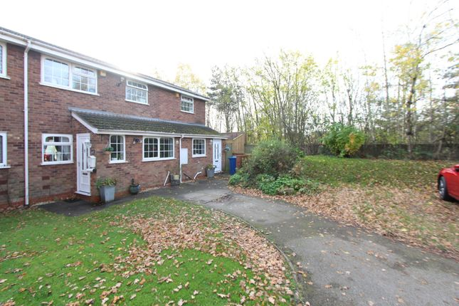 Thumbnail Semi-detached house for sale in Wessenden, Wilnecote, Tamworth