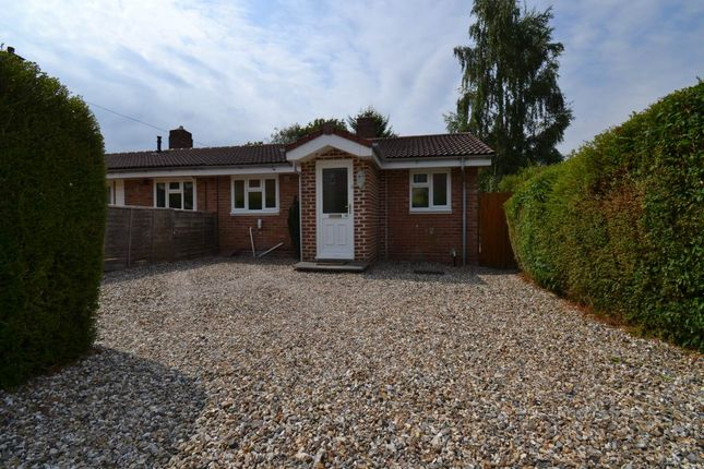 Thumbnail Semi-detached bungalow to rent in South Road, Kingsclere, Hampshire