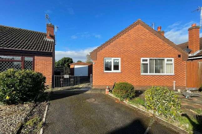 Thumbnail Detached bungalow for sale in The Paddock, Carlton, Goole