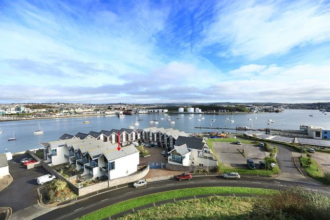 Thumbnail Town house for sale in Spinnaker Quay, Mount Batten, Plymouth