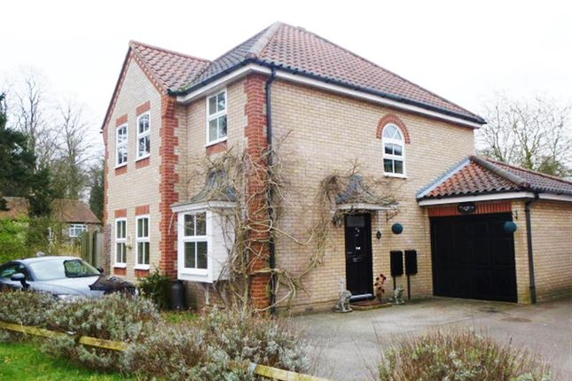 Thumbnail Detached house for sale in Woodlark Close, Thetford
