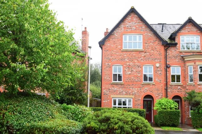 Thumbnail End terrace house for sale in Russet Way, Alderley Edge, Cheshire