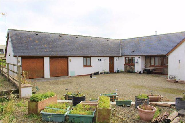 Thumbnail Detached bungalow for sale in Wallaston Green, Hundleton, Pembroke