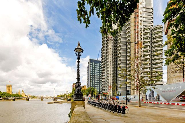 Thumbnail Flat for sale in The Corniche, Tower One, 20 Albert Embankment, London