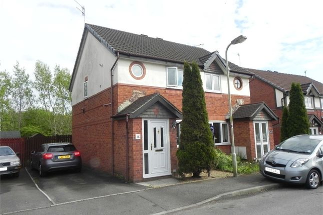 Thumbnail Semi-detached house to rent in Rushfield Gardens, Bridgend, Bridgend