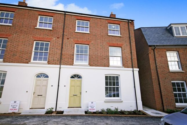Thumbnail Semi-detached house for sale in Marsden Street, Poundbury, Dorchester