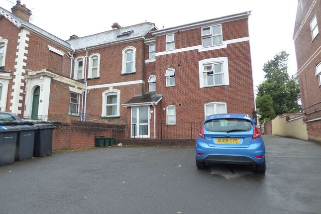 Thumbnail Flat to rent in St. James Road, Exeter