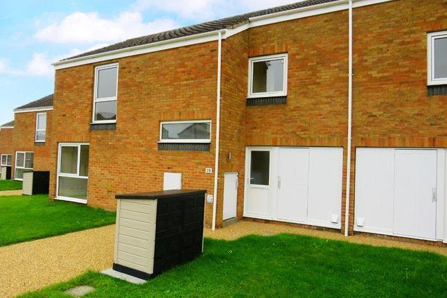 Thumbnail Terraced house to rent in Oak Lane, RAF Lakenheath, Brandon