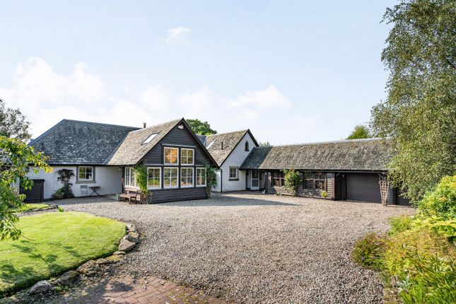 Thumbnail Detached house for sale in Dollerie, Crieff, Perthshire