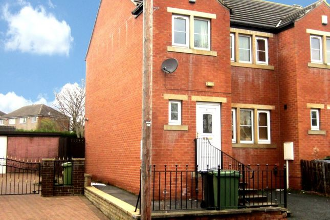 Thumbnail End terrace house to rent in Carr Green Lane, Huddersfield