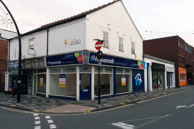 Retail premises to let in King Street & Lord Street, Wrexham