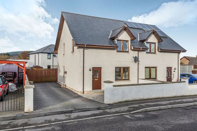 Thumbnail Semi-detached house for sale in Kendal Crescent, Alness