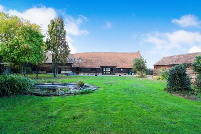 Thumbnail Barn conversion for sale in Brooklands Farm, Gypsy Lane, Biggleswade, Bedfordshire