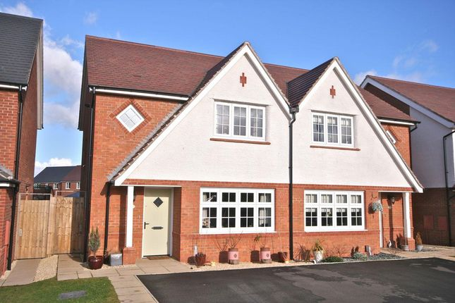 Thumbnail Semi-detached house for sale in Way Field, Leegomery, Telford