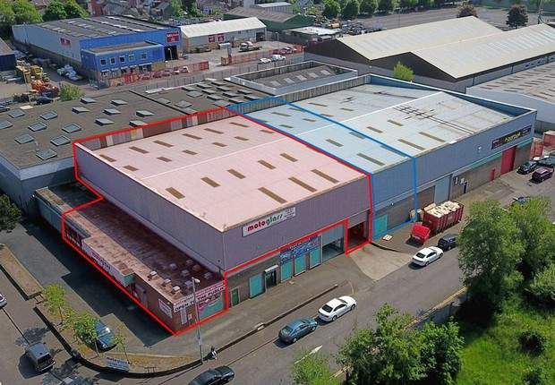 Thumbnail Warehouse to let in Units 1 & 6, Balmoral Link, Boucher Road, Belfast, County Antrim