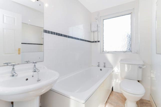 Bathroom of Union Street, Largs, North Ayrshire, Scotland KA30
