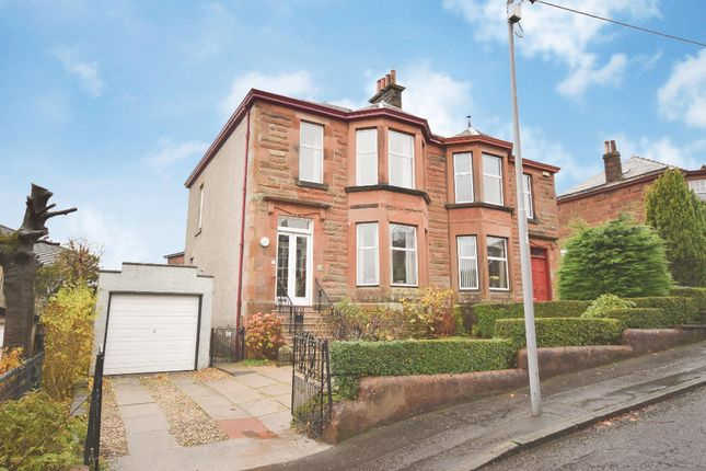 Thumbnail Semi-detached house for sale in St. Anns Drive, Giffnock, Glasgow