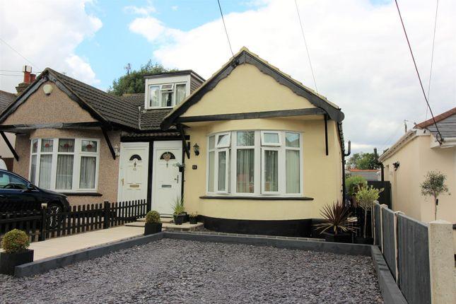 Thumbnail Semi-detached bungalow for sale in Woodfield Road, Benfleet