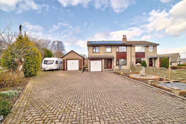 Thumbnail Semi-detached house for sale in Marsh Hall Lane, Thurstonland, Huddersfield