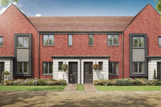 """Thumbnail Terraced house for sale in """"The Alnwick"""" at Eclipse, Sittingbourne Road, Maidstone"""