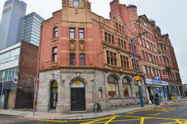 Thumbnail Studio to rent in Hanover Street, Manchester