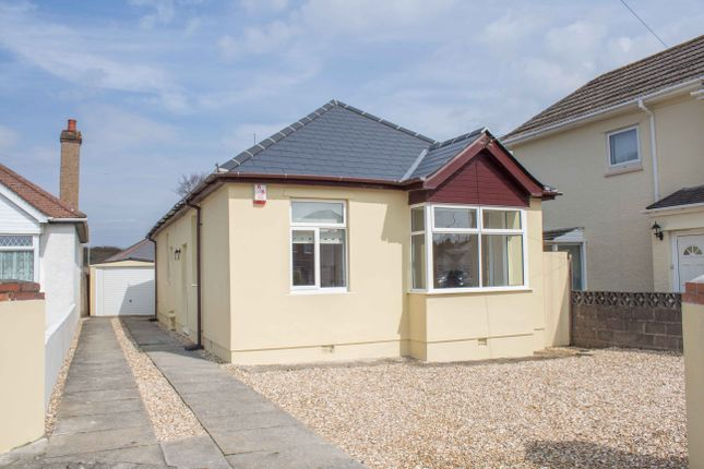 Thumbnail Detached bungalow for sale in Bowden Park Road, Plymouth