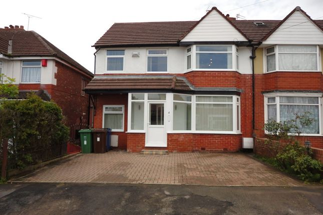Thumbnail Semi-detached house to rent in Lynton Drive, Prestwich, Manchester