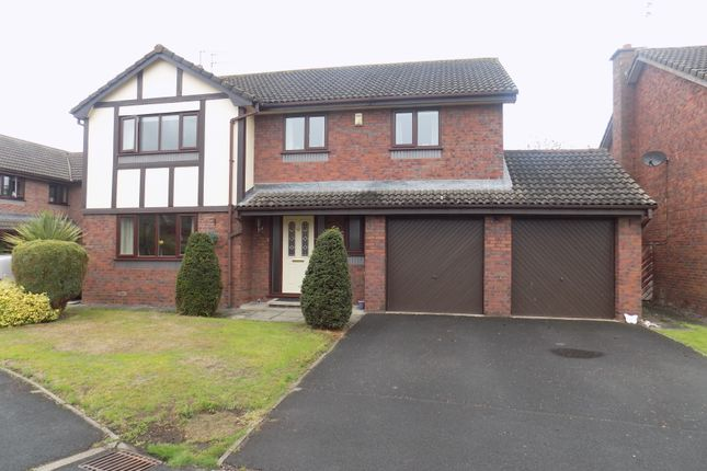 Thumbnail Detached house for sale in The Orchards, Pickmere, Knutsford