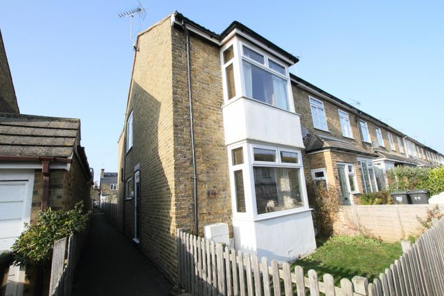Thumbnail End terrace house for sale in Acton Road, Whitstable