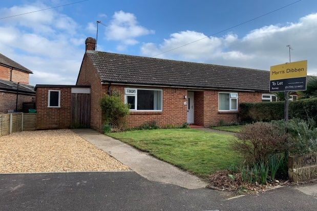 Thumbnail Bungalow to rent in Priestlands, Romsey