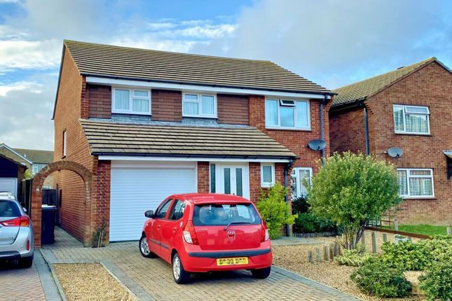 Thumbnail Detached house for sale in Woodward Close, Eastbourne