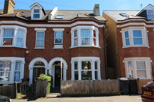 Thumbnail 2 bed flat for sale in Elliott Road, Thornton Heath, Surrey
