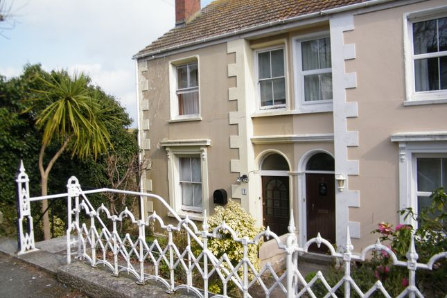 Thumbnail End terrace house to rent in Arwenack Avenue, Falmouth, Cornwall