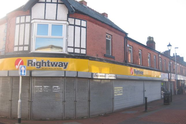 Retail premises to let in 15-19 Bebington Road, New Ferry