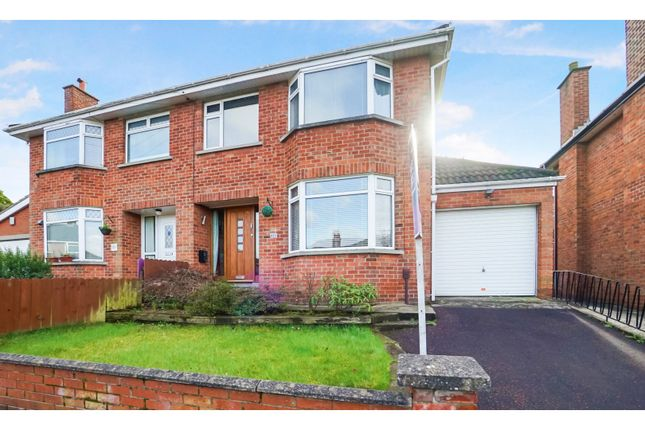 Thumbnail Semi-detached house for sale in Glenview Avenue, Belfast