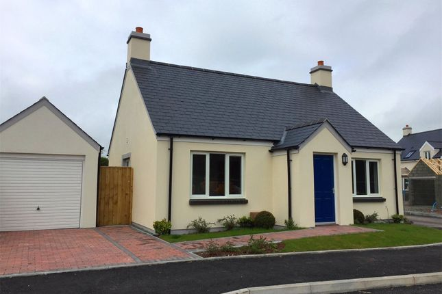 Thumbnail Detached bungalow for sale in Plot No 10, Triplestone Close, Herbrandston, Milford Haven