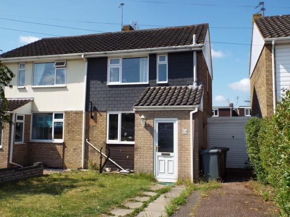 Thumbnail Semi-detached house for sale in Hellesdon, Norwich, Norfolk