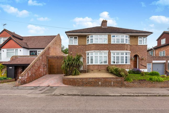 Thumbnail Semi-detached house for sale in Meadow Road, Berkhamsted