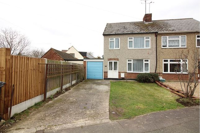 Thumbnail Semi-detached house for sale in Lynmouth Avenue, Chelmsford