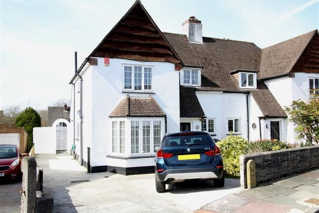 Thumbnail Semi-detached house for sale in Whitby Crescent, Crownhill, Plymouth