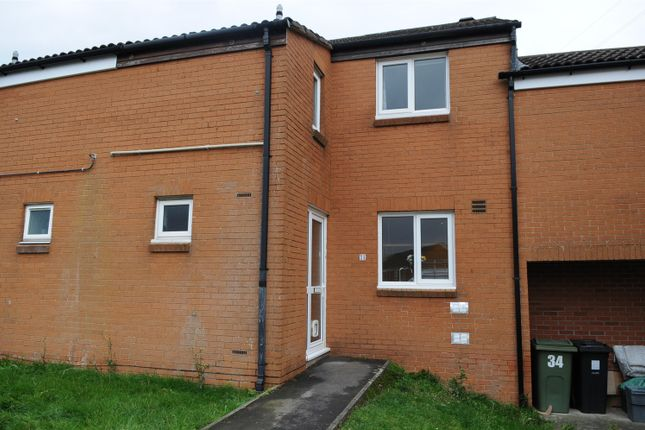 Thumbnail Terraced house for sale in Caldicot Close, Willsbridge, Bristol