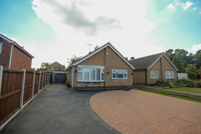 Thumbnail Detached bungalow for sale in Rushdale Avenue, Littleover, Derby