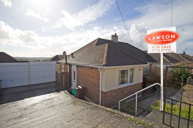 Thumbnail Semi-detached bungalow for sale in Darwin Crescent, Laira, Plymouth