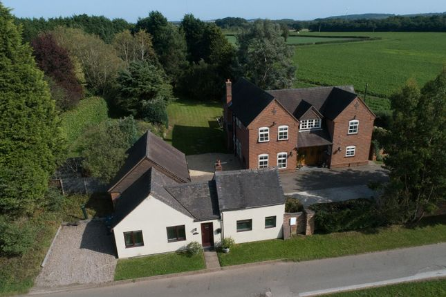 Thumbnail Detached house for sale in Shenstone, Lichfield, Staffordshire