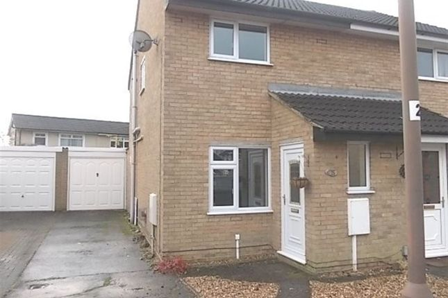 Thumbnail Semi-detached house to rent in Heather Close, Rugby, Warwickshire