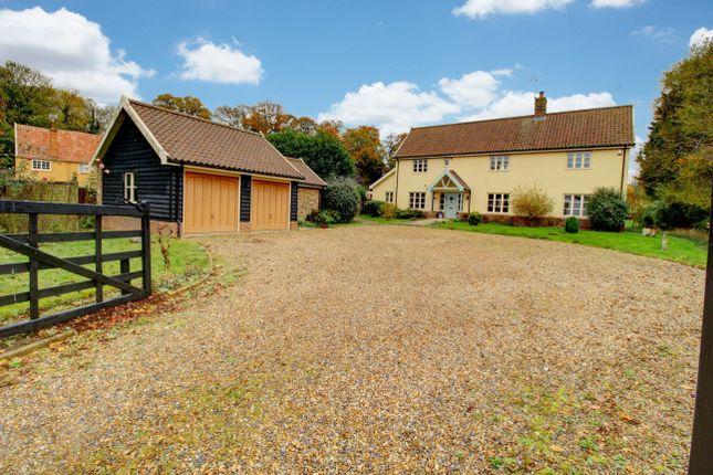 Thumbnail Detached house for sale in Sudbury Road, Sicklesmere, Bury St. Edmunds
